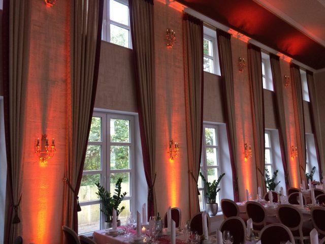 Ambiente-Beleuchtung für Unternehmensfeiern