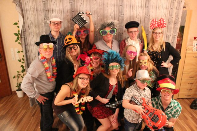 Fotobox / Photobooth - Gruppenfoto